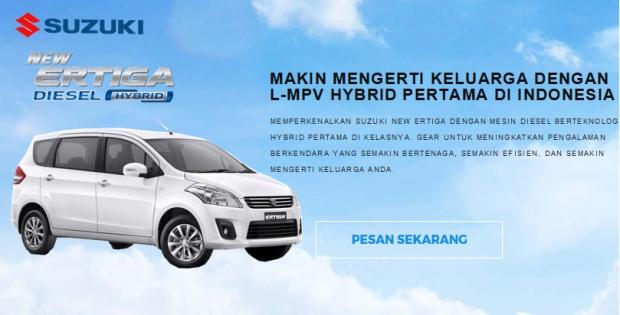 Simulasi Kredit Suzuki Ertiga Surabaya Kredit Ertiga Surabaya